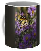 Monarch And Asters Coffee Mug