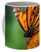 Monarch Butterfly Headshot Coffee Mug