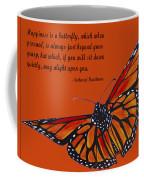 Monarch Butterfly Pismo Beach Coffee Mug