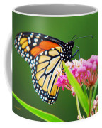Monarch Butterfly Simple Pleasure Coffee Mug