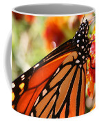 Monarch On Marigold Coffee Mug