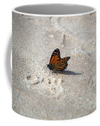 Monarch On The Beach Coffee Mug