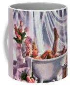 Monet Hunny Bunny Coffee Mug