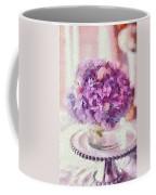 Monet Purple Pedestal Coffee Mug