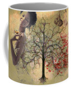 Monet Splashed Petals Coffee Mug