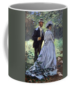 Monet's Bazille And Camille Coffee Mug