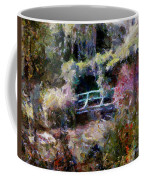 Monet's Bridge In Autumn Coffee Mug