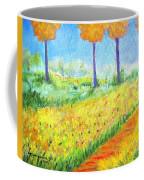 Monet's Garden Path Coffee Mug