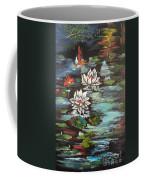 Monet's Pond With Lotus 1 Coffee Mug