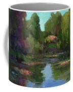 Monet's Water Lily Pond Coffee Mug