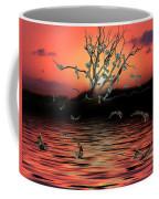 Money Tree Sunset Coffee Mug
