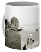 Monk In Vientiane Coffee Mug