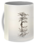Monochromatic Morning On Lake Mattamuskeet  Two Coffee Mug
