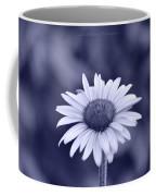 Monochrome Aster Coffee Mug