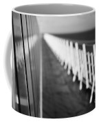 Monochrome Sun Deck Coffee Mug by Anne Gilbert