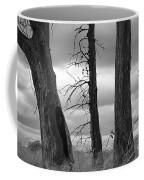 Monochrome Trees Coffee Mug