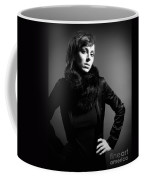 Monochrome Woman Coffee Mug