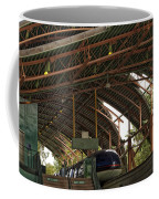 Monorail Depot Disneyland 01 Coffee Mug