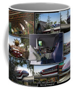 Monorail Disneyland Collage Coffee Mug