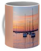 Monroe Harbor Sunrise Coffee Mug