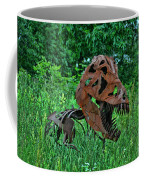 Monster In The Grass Coffee Mug