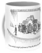 Monster-truck Crushes Members Of String Octet Coffee Mug