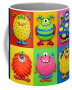Monsters Coffee Mug by Amy Vangsgard