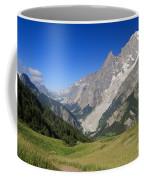 mont Blanc from Ferret valley Coffee Mug