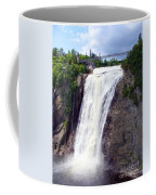 Mont Morency Falls Coffee Mug