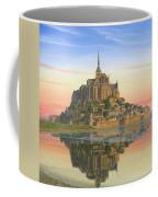 Mont Saint-michel Morn Coffee Mug by Richard Harpum