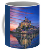 Mont Saint-michel Soir Coffee Mug by Richard Harpum