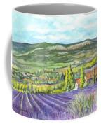 Montagne De Lure In Provence France Coffee Mug