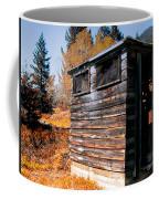 Montana Outhouse 03 Coffee Mug