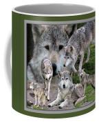 Montana Wolf Pack Coffee Mug