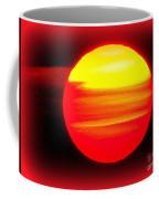 Montauk Sunset Abstract Coffee Mug