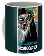 Monte Carlo - Vintage Poster Coffee Mug