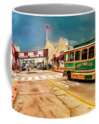 Monterey And Cable Car Bus Coffee Mug