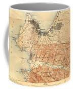 Monterey And Carmel Valley  Monterey Peninsula California  1912 Coffee Mug