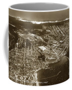 Aerial Of Monterey And Pacific Grove  California Oct. 25 1934 Coffee Mug