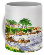 Monterey- California Sketchbook Project Coffee Mug by Irina Sztukowski