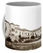 Monterey  Hospital At 576 Hartnell Street Circa 1939 Coffee Mug
