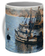 Monterey Fish Company Abstract Coffee Mug