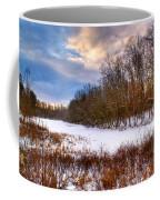 Monterey Lake Snow Day Coffee Mug