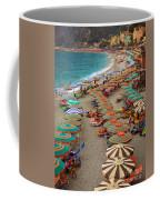 Monterosso Beach Coffee Mug