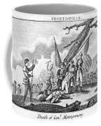 Montgomerys Death, 1775 Coffee Mug