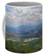 Montorfano. A View To Lake Iseo Coffee Mug
