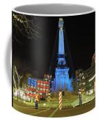 Monument Circle Indianapolis At Night Coffee Mug