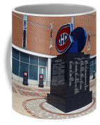 Monument For The Montreal Canadiens Coffee Mug