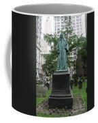 Monument John Watts Trinity Churchyard New York Coffee Mug