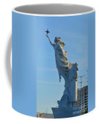 Monument To The Immigrants Statue 2 Coffee Mug